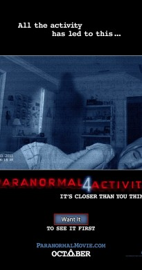 2012 Paranormal Activity 4