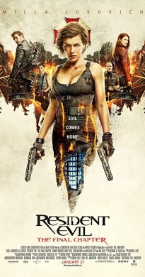 2016 Resident Evil The Final Chapter