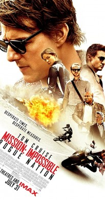 2015 Mission Impossible Rogue Nation