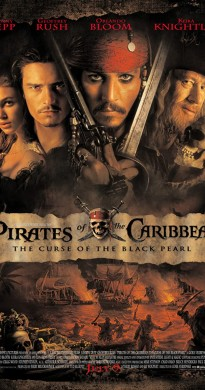 2003 Pirates of the Caribbean The Curse of the Black Pearl